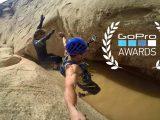 JJ Yosh Canyoneering in Utah for GOPRO