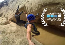 JJ Yosh Canyoneering in Utah for GOPRO
