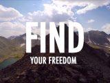 JJ Yosh running for GoPro Video in Niwot Ridge Colorado