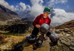 Nepalese Tea Time with Primus Stoves